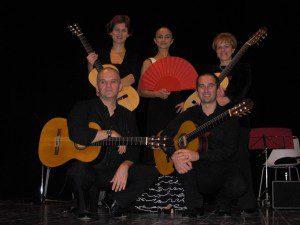 Sevilla Guitar Quartet Ballerina Maria Josè Leon Soto Teatro Sociale Villa Bartlomea 28.11.2010