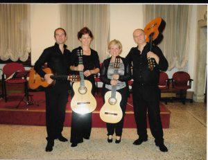 Sevilla Guitar Quartet Avio (TN) 2011