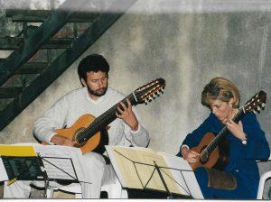 Castello di Castellano Villalagarina (TN) Chitarristi: Carla Tessari e Irio Zenatti luglio 200