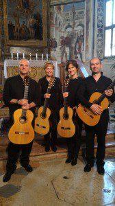 Sevilla Guitar Qurtet Chiesa di San Nazaro e Celso luglio 2016