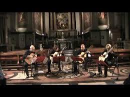 Sevilla Guitar Quartet San Giorgio in Braida - Verona 14 giugno 2016