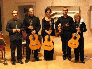 Sevilla Guitar Quartet con percussionista Fausto Biffi Castel Stenico (TN) 4 settembre 2007