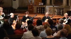 Sevilla Guitar Quartet con soprano Eugenia Anghel San Giorgio in Braida - Verona 14 giugno 2016
